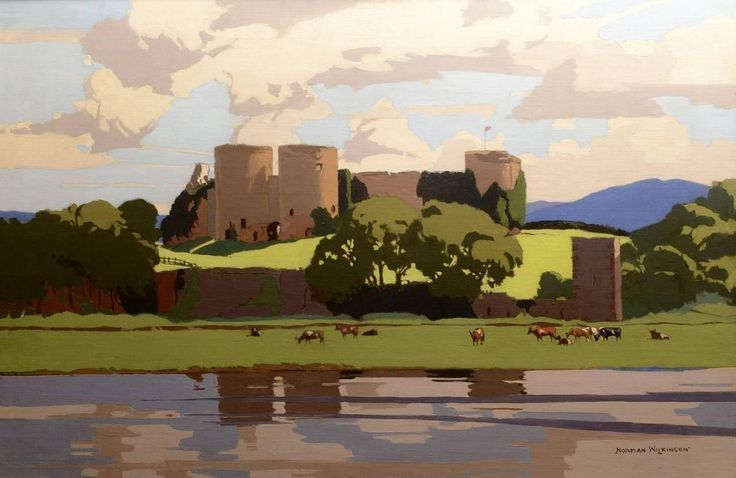 Norman Wilkinson CBE PRI - Rhuddlan Castle   1stdibs.com