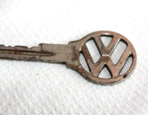 Vintage Volkswagon Key, have lots of these at work.( Punchbuggies)