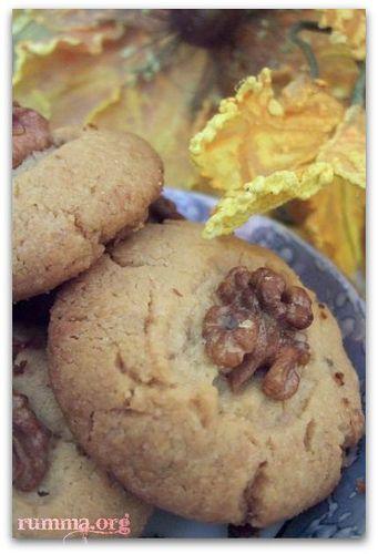 Cevizli tahinli kurabiye - rumma