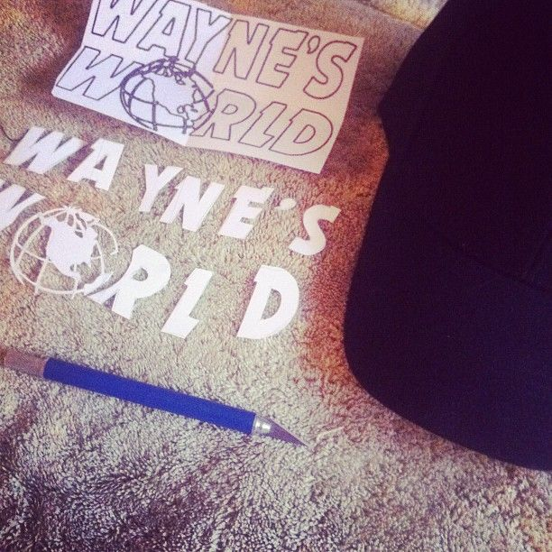 DIY: Wayne's World hat