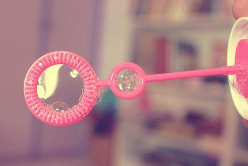Les bulles....
