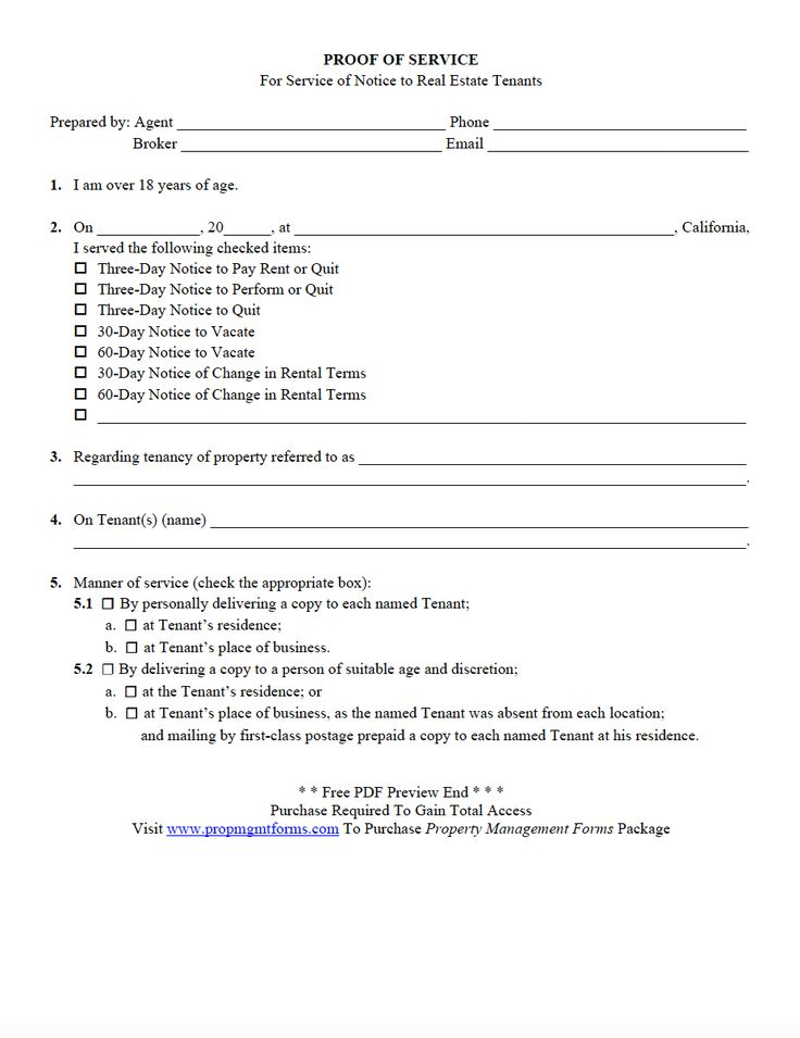 46 best Property Management Forms images on Pinterest Pdf - free printable eviction notice forms