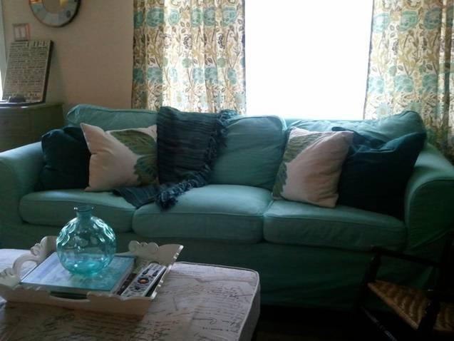 My Colorful Cottage RIT Dye & My Ikea Ektorp Sofa