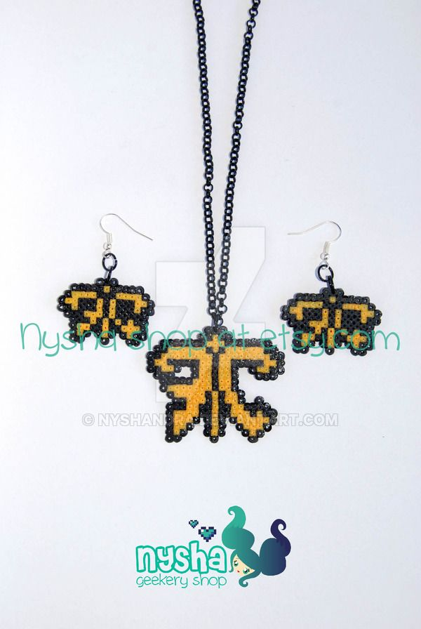 Commission Fnatic logo set League of Legends by Nyshandra