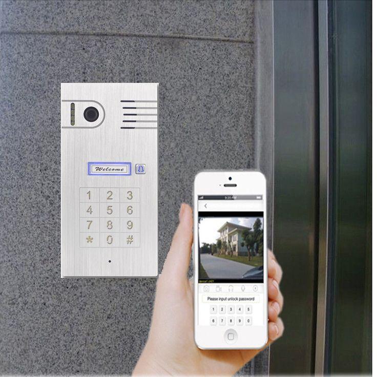 Ein Plus an Freiheit gewinnen Sie durch eine moderne Türsprechanlage mit WLAN aus unserem Onlineshop. Ganz einfach nutzbar übers iPhone oder Smartphone.