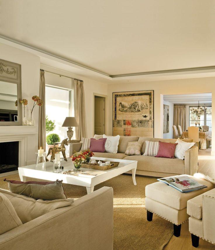 M s de 25 ideas fant sticas sobre decoracion de salas - Salones en tonos grises ...