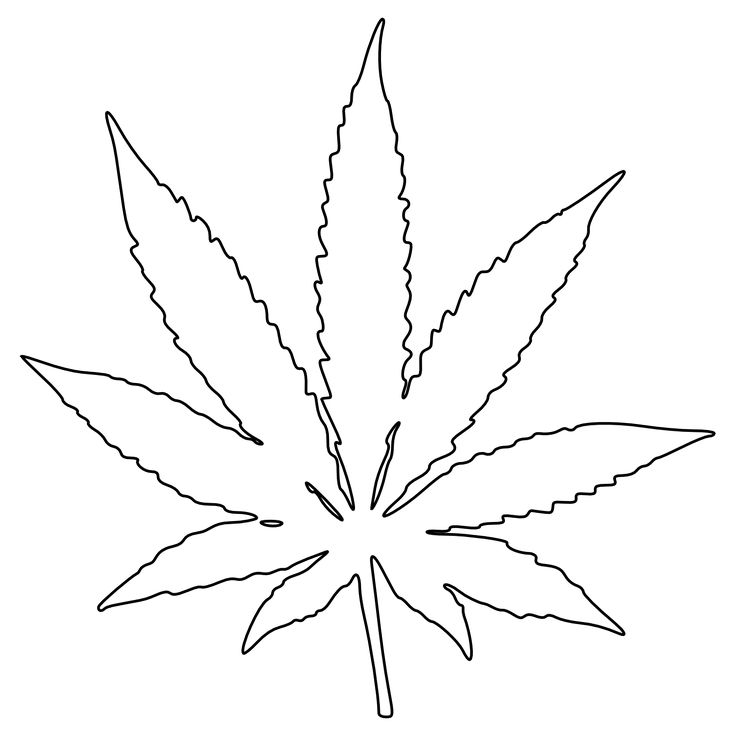 marijuana leaf clip art black and white weed tattoos