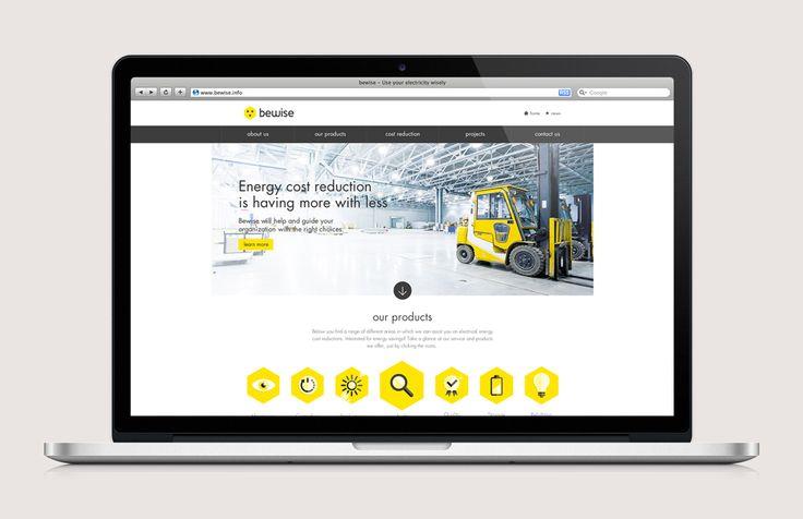 Bewise - Website   by Skinn Branding Agency
