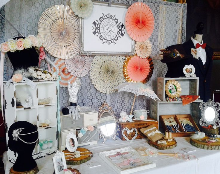 Lilly Dilly's stand at The Worcester Vintage Wedding Fayre, Guild Hall, March 2016 #wedding #fayre #stand #Lilly Dilly's #the vintage wedding Fayre