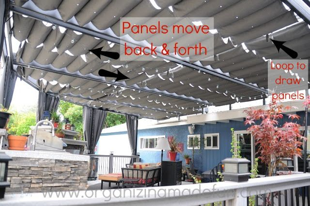 Organizing Made Fun: Our new amazing patio cover...