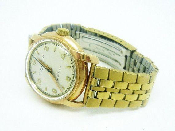 Baume & Mercier Gents 18 CT Gold Automatic Wrist by DartSilverLtd