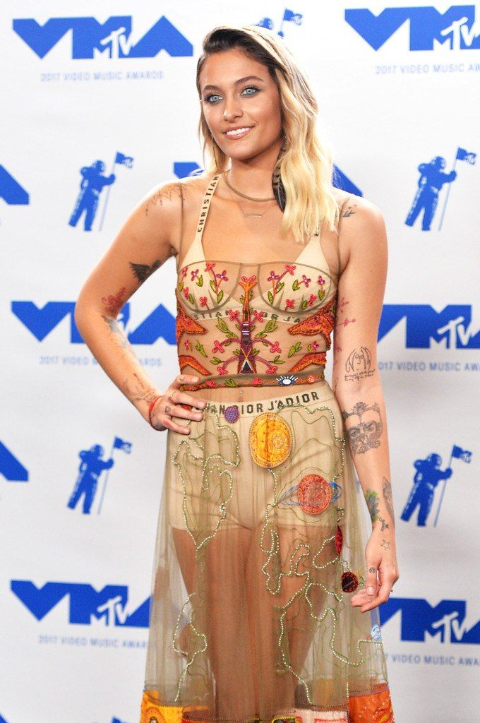 Paris Jackson at the 2017 VMA Awards