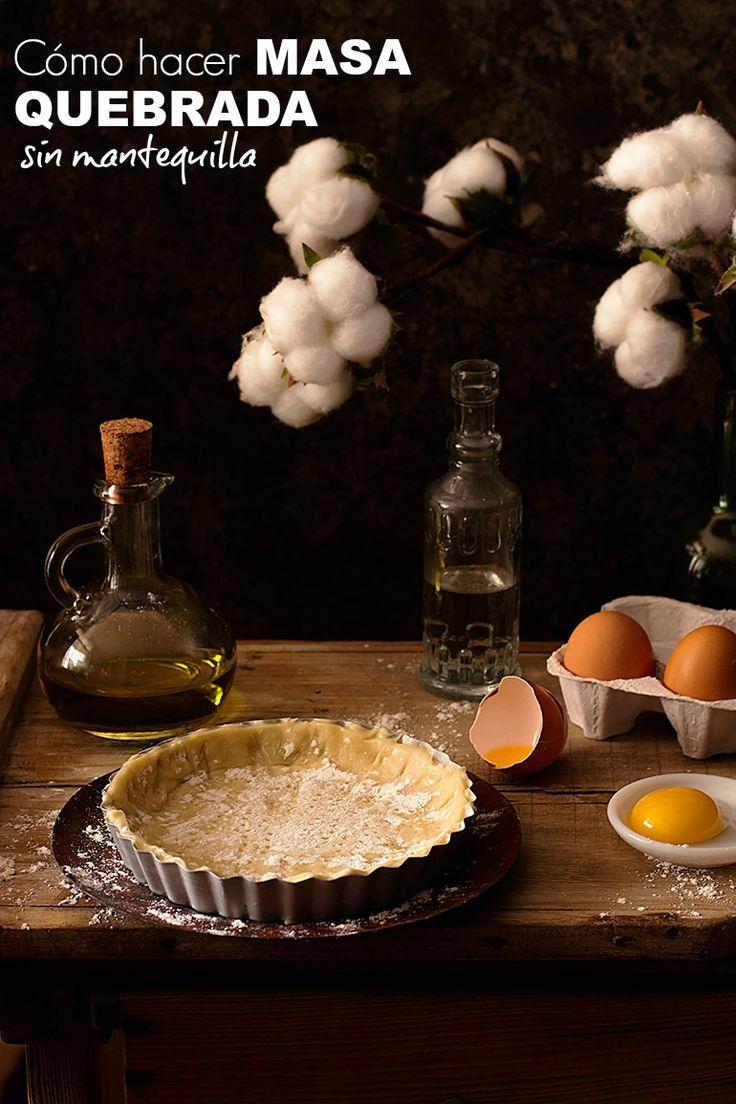 La fórmula mágica para hacer masa quebrada sin mantequilla - O'Food