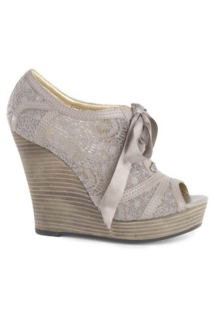 Harmony Wedges in Light Gray  Gorgeous!!
