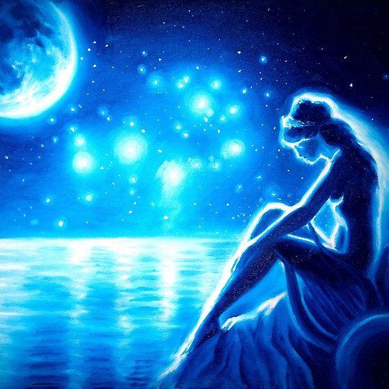 Sappho, the moon and the Pleiades