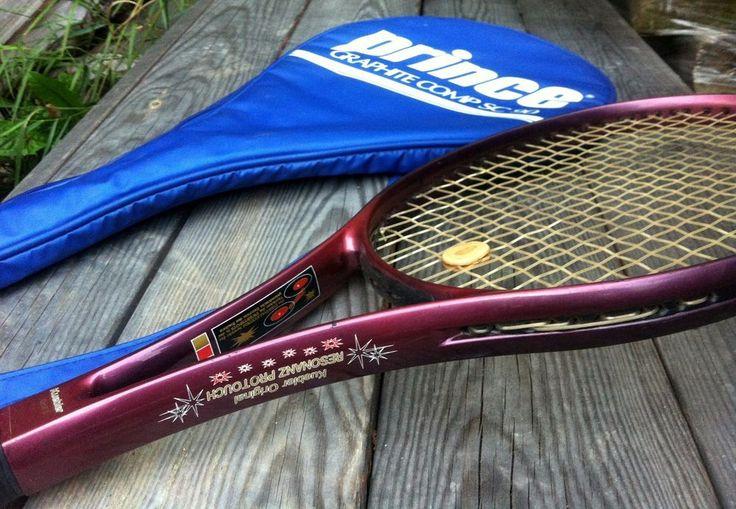 TENNIS SCHLÄGER Racket original  KUEBLER RESONANZ PRO TOUCH  mit PRINCE Hülle in Sport, Weitere Ballsportarten, Tennis | eBay!