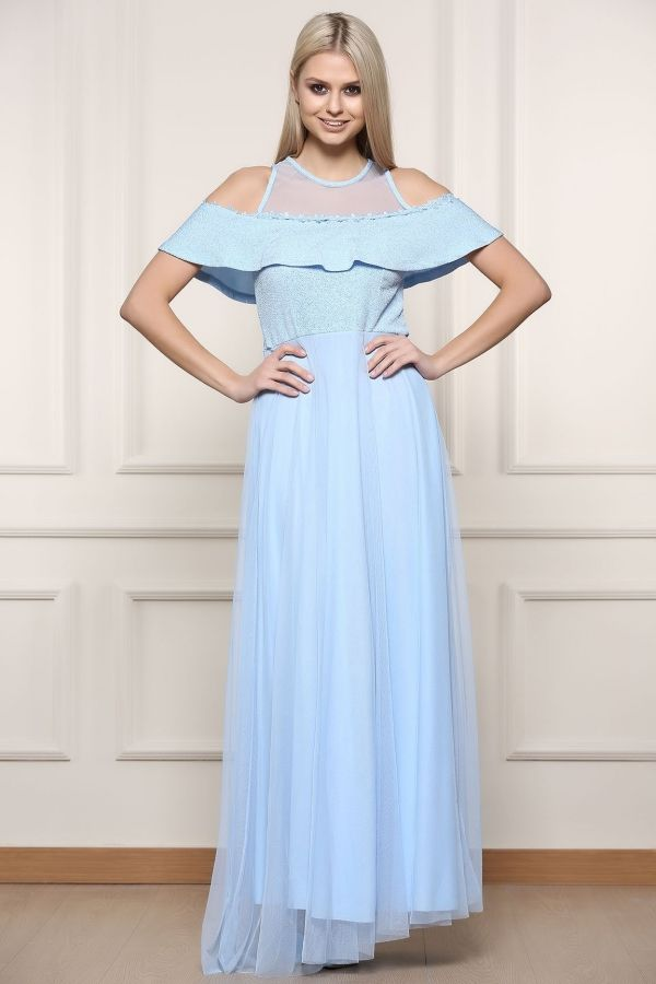 Tum Abiye Modelleri Icin Tiklayiniz Www Modivera Com Elbise Mavi Abiye The Dress