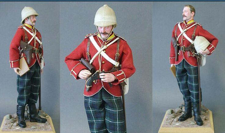 Officer, Highland Light Infantry, Egypt, 1882