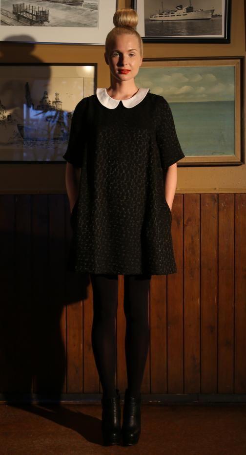 Ivana Helsinki AW13 collection: Lynette dress   #ivanahelsinki #fashionflashfinland #fashion #fashiondesigner #designer #aw13 #collection #Finland #Helsinki