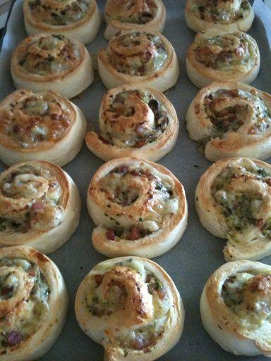 Kimmy's #Thermomix Savoury Scone Pinwheels http://bit.ly/YKNk4e