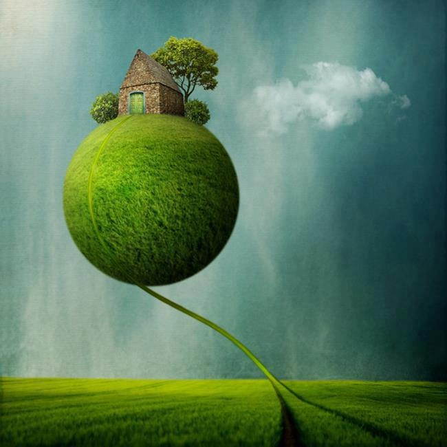 """What's the use of a  fine house if you  haven't got a tolerable  planet to put it on?""  ― Henry David Thoreau,:"