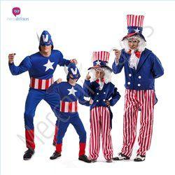 #Disfraces de #Carnaval de #Capitán America para grupos #mercadisfraces tienda…