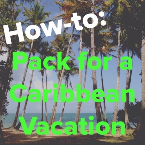Resort Season. How to pack for a Caribbean vacation. Fit everything you need in one carry-on bag. Outfit ideas for pool side. Day and night looks. Mix and match vacation outfits!