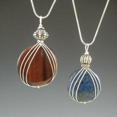 Free Wire Wrap Jewelry Patterns | Cabochon Wire Wrapping Tutorial [#298] - $15.00 : LB Jewelry Designs ...
