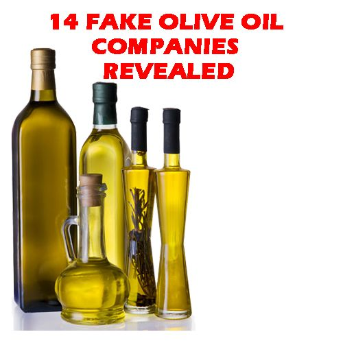 It's claim that many famous brands were revealed fake olive