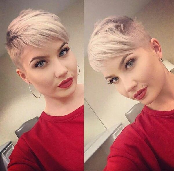 haircut for a 650 best pixie hair images on coiffures 2347