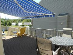 Retractable Deck Awning Enjoy ALL Year Round!