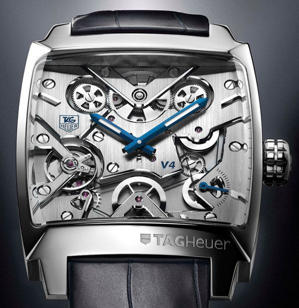 This is probably one of the most beautiful designs of watch I've ever seen.