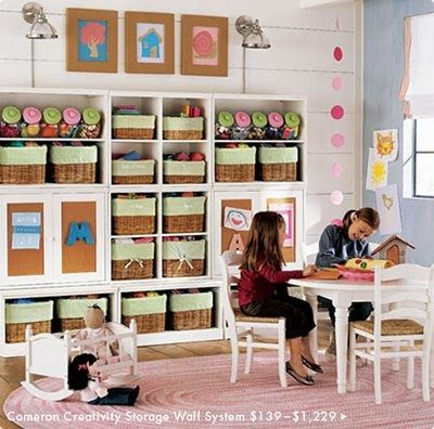 cuarto de juegos Organizando una habitación de juegos