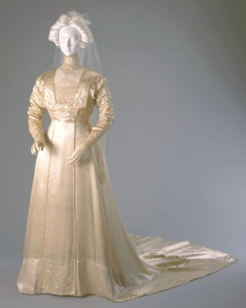 Vintage Wedding Dresses Cincinnati : Edwardian wedding dresses silk g