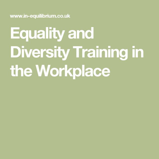 equality and diversity course This course is suitable for learners of all levels, including employers, managers, supervisors, full-time and part-time workers, as everyone in the workplace has a responsibility for supporting equality and diversity.