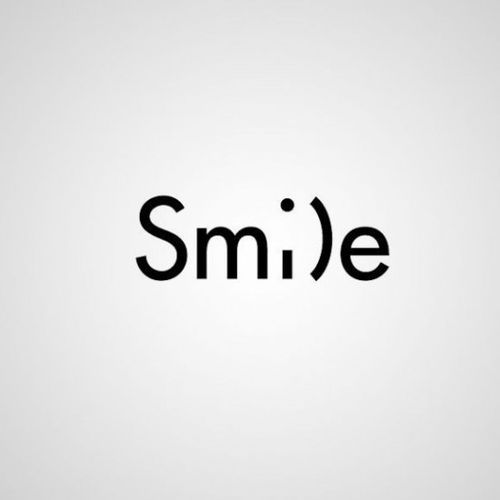 Smile with a clever wink! When you smile it releases dopamine.