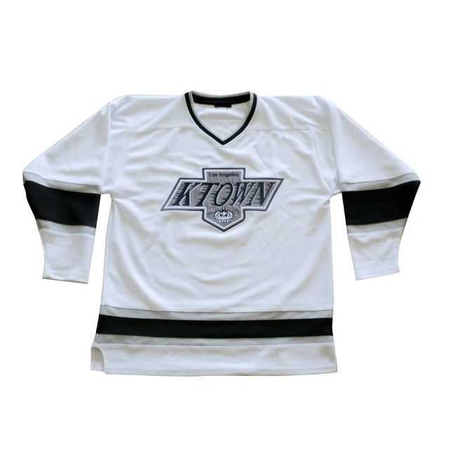 Dumbfoundead Koreatown Pro Fit Hockey Jersey White New 80 00 Available Dumbfoundead Https Www Merchbar Com Merch 1 In 2020 Hockey Jersey Hockey Jersey