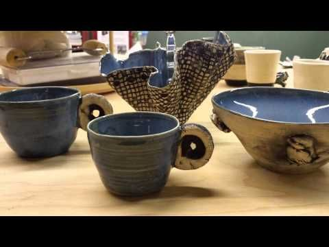KILN OPENING - 1LB of Clay 25 Ways Pieces - Slideshow - Hobby Potter - YouTube