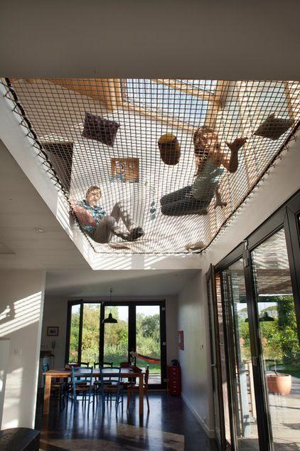 Zeitgenössische Kinderzimmer von POLY RYTHMIC ARCHITECTURE