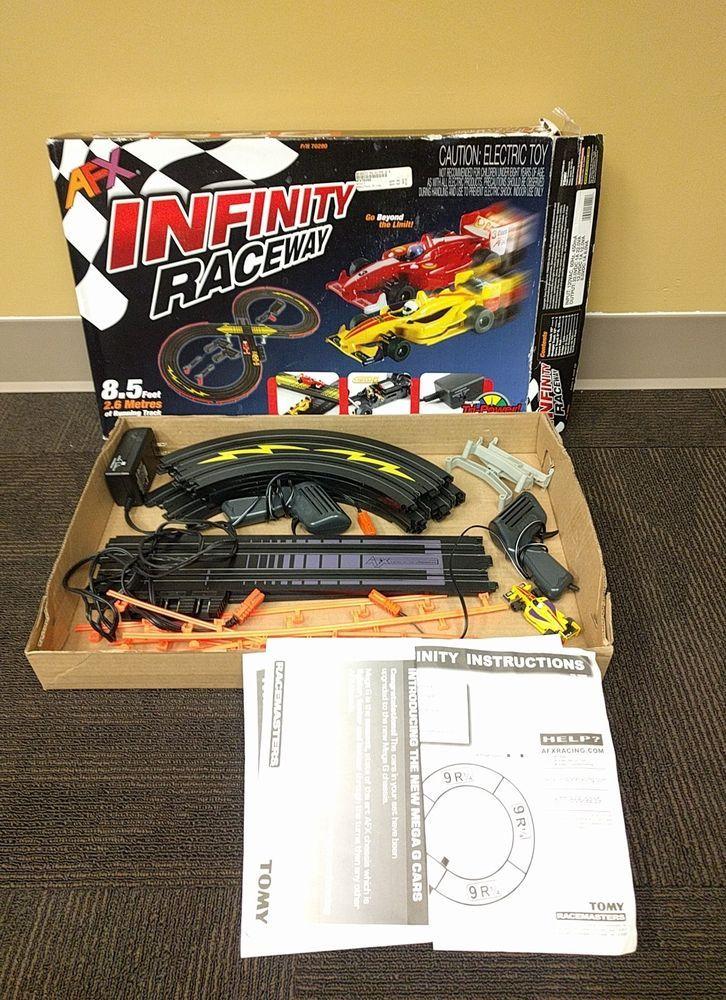 AFX Infinity Raceway Mega G HO Slot Car Track Set with ONE Car | Toys & Hobbies, Slot Cars, HO Scale | eBay!
