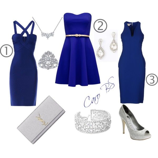"""""""For ever blue"""" by carobs on Polyvore"""