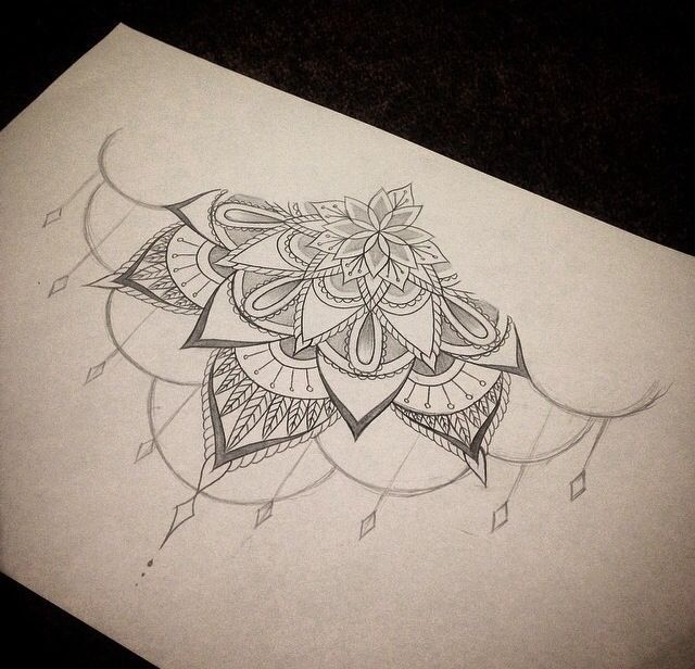 Concept for shoulder tattoo