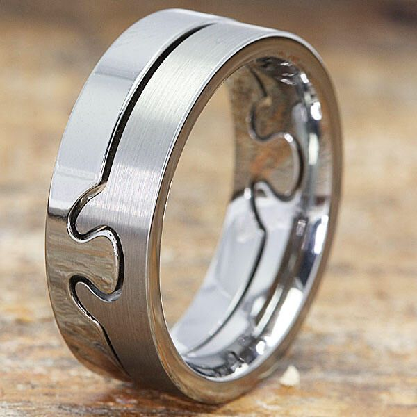 The 25 best Puzzle ring ideas on Pinterest