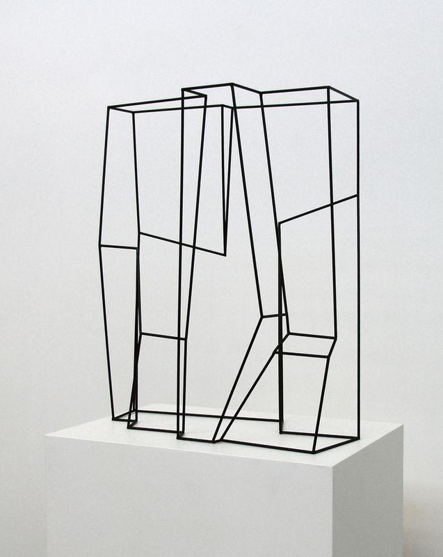 Morgan Shimeld metal sculpture