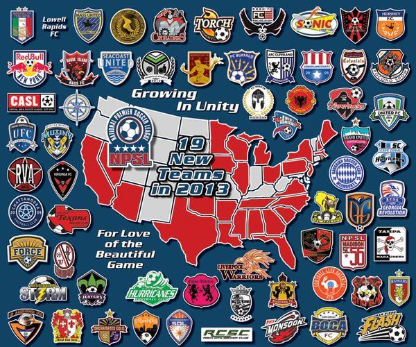 Minor League Soccer Division 4 Pdl Npsl Page 2 Basketball Forum Soccer Major League Soccer League
