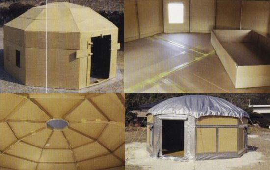 Cardboard Homes Make Swanky Earthquake Emergency Shelters