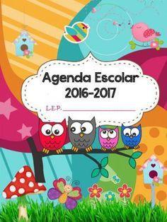 AGENDA ESCOLAR 2016 2017 BÚHOS (1)                                                                                                                                                     Más