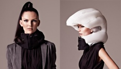 The invisible Bicycle helmet: Look awesome and stay safe.