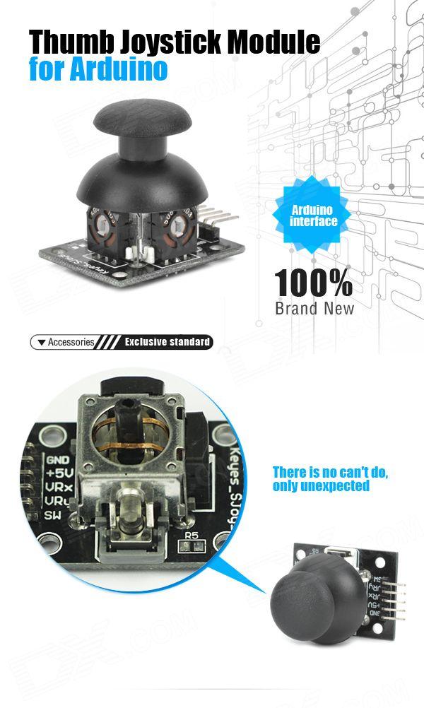 Keyes Thumb Joystick Module for Arduino - Free Shipping - DealExtreme