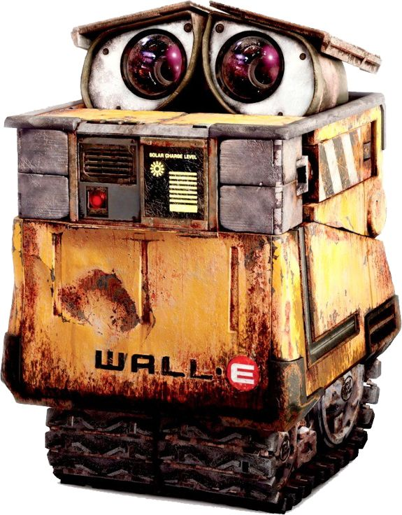 Disney Wall-E Clip Art and Disney Animated Gifs - Disney Graphic Characters Brought to You by Triplets And Us